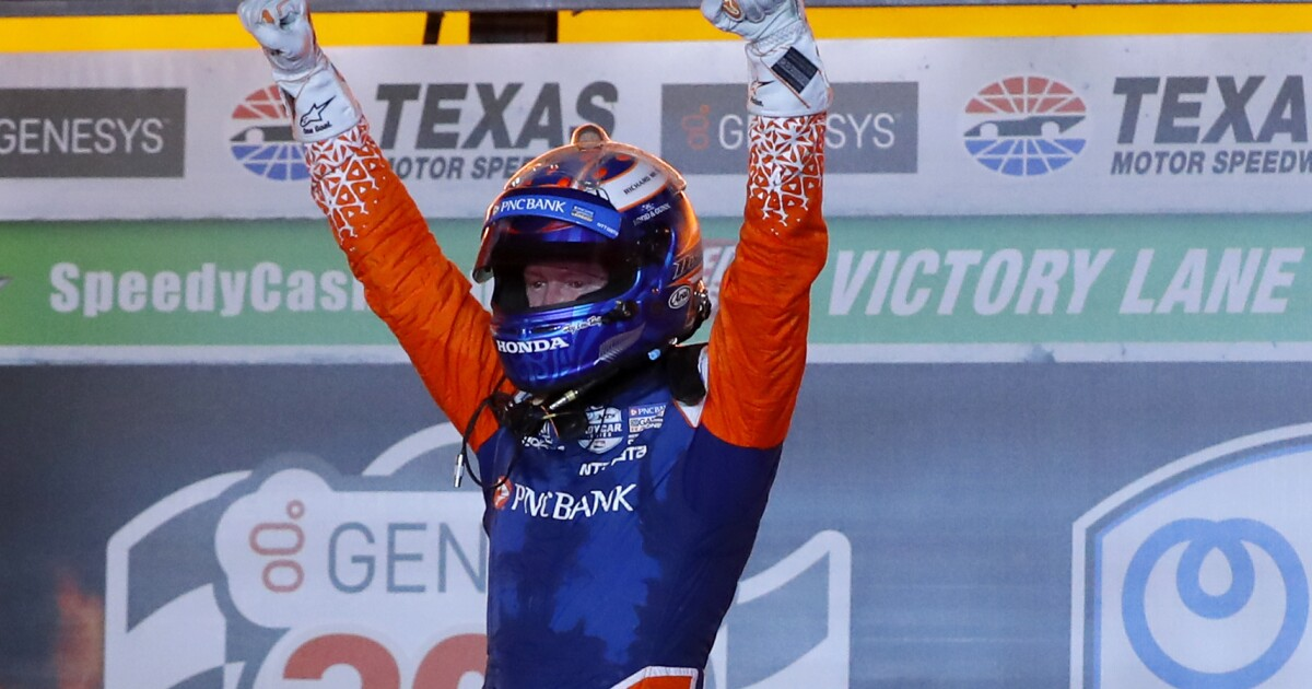 Scott Dixon wins again at Texas in IndyCar's delayed season opener
