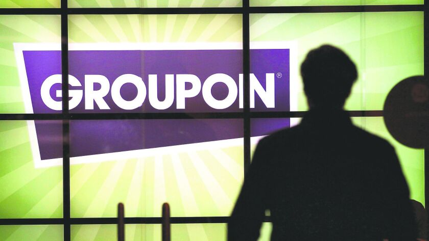 Groupon is facing a lawsuit alleging the Chicago-based online deals site kept hundreds of thousands of dollars in refunds from boat rental vouchers without reimbursing the rental company or its customers.