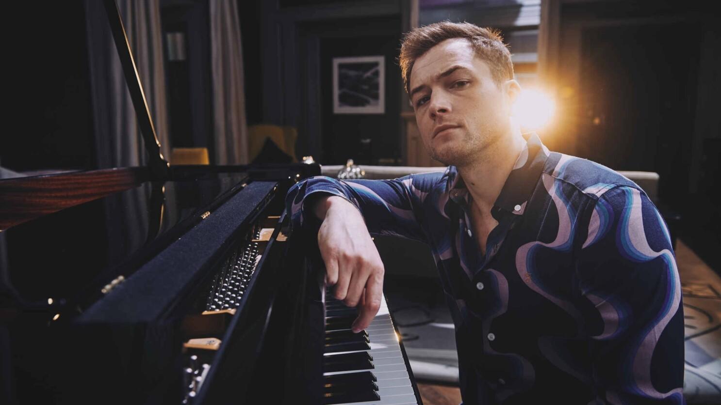 Taron Egerton channels Elton John in 'Rocketman,' and the