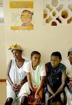 Women's clinic in Cange