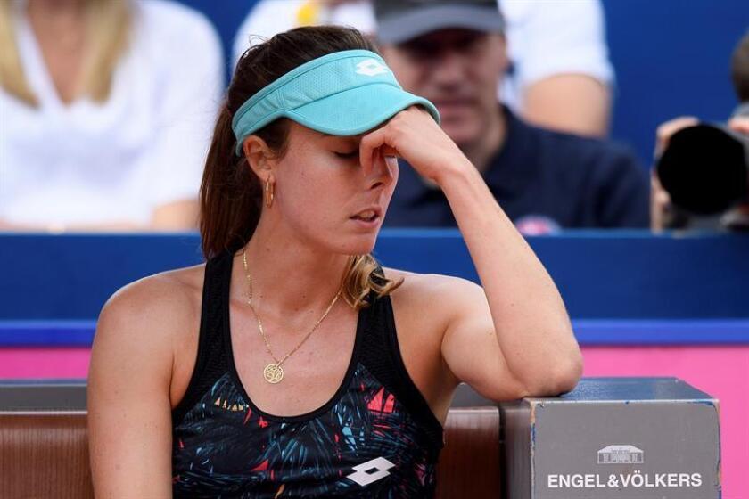 En la imagen, la tenista francesa Alizé Cornet. EFE/Archivo
