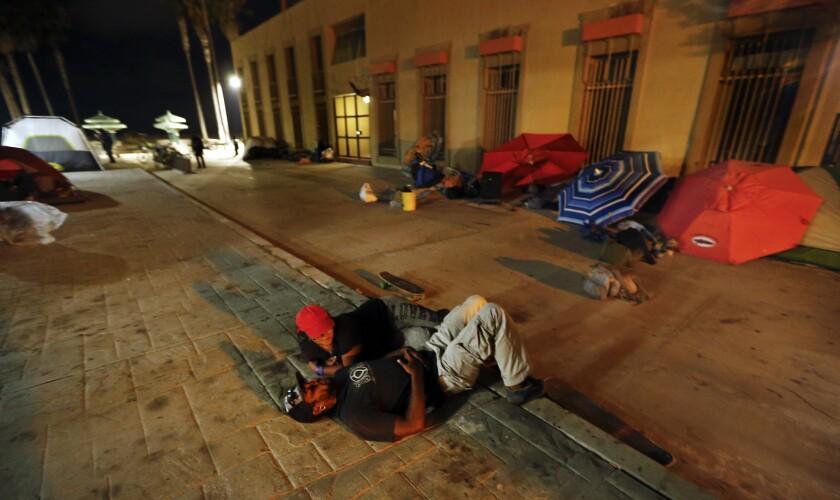 Homeless in Venice