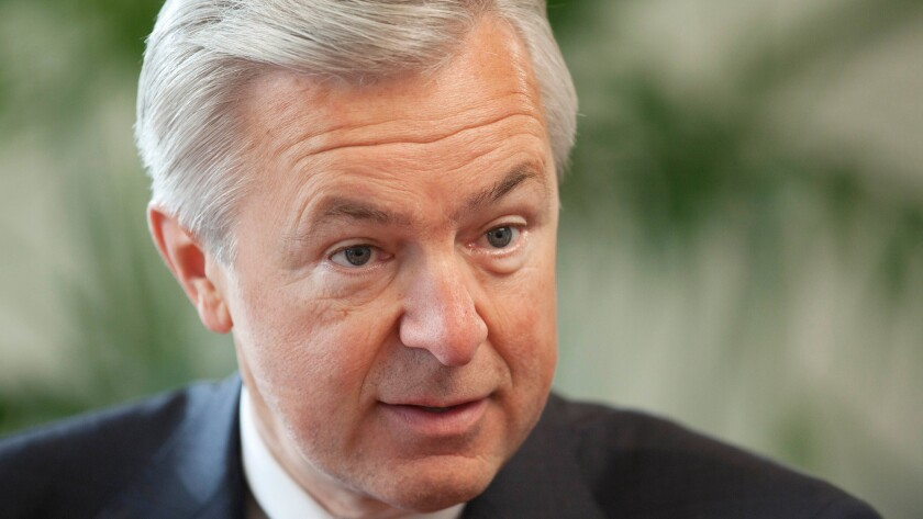 Any way you cut it, he's responsible for the scandal: Wells Fargo Chairman and CEO John G. Stumpf. What's the argument for leaving him in place?