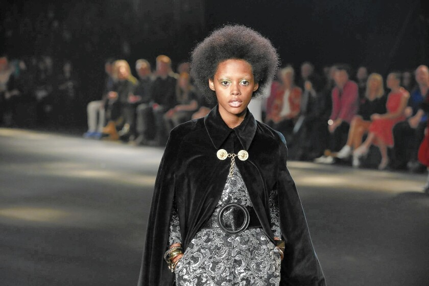 Saint Laurent's Hedi Slimane rocks the L.A. runway with retro-glam zeal