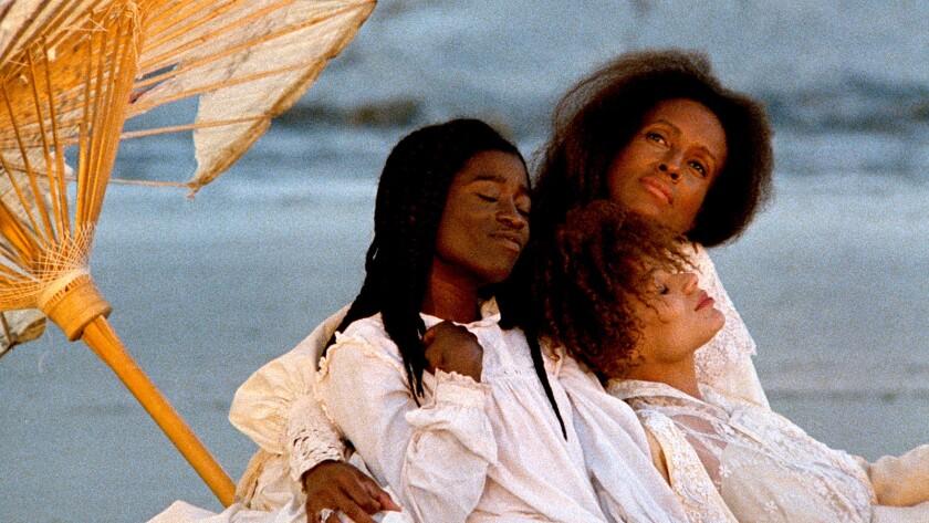 Alva Rogers as Eula Peazant (right), Trula Hoosier as Trula (center) and Barbara-O as Yellow Mary Pe