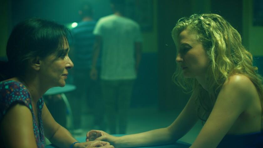 "Valeria Golino, left, and Alba Rohrwacher in the movie ""Daughter of Mine."""