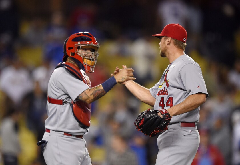 Dodgers can't complete sweep of Cardinals, lose 5-2
