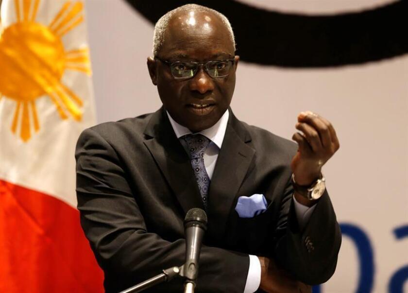 En la imagen, el asesor especial de la ONU para la Prevención del Genocidio, Adama Dieng. EFE/Archivo