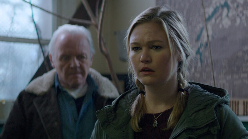 """Anthony Hopkins and Julia Stiles star in the film """"Blackway."""""""