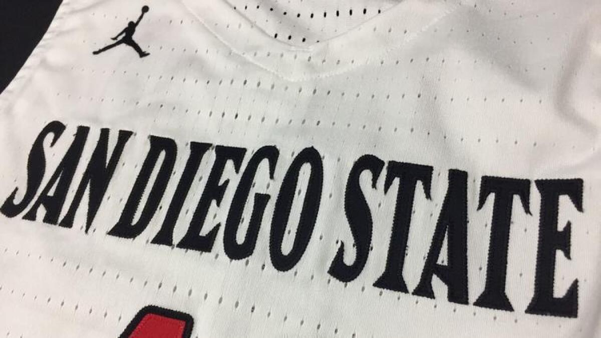 444e98431ac SDSU men's basketball picked to join selective Jordan Brand family - The  San Diego Union-Tribune