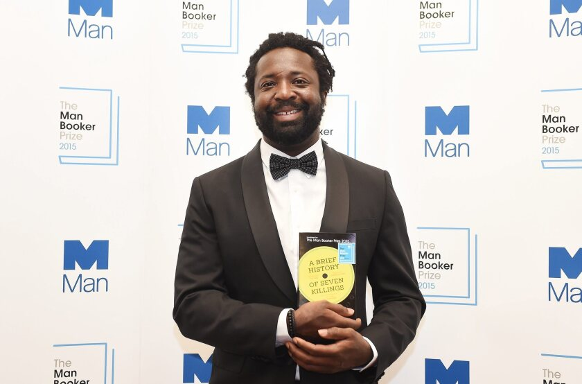 Marlon James wins the Man Booker Prize for Fiction