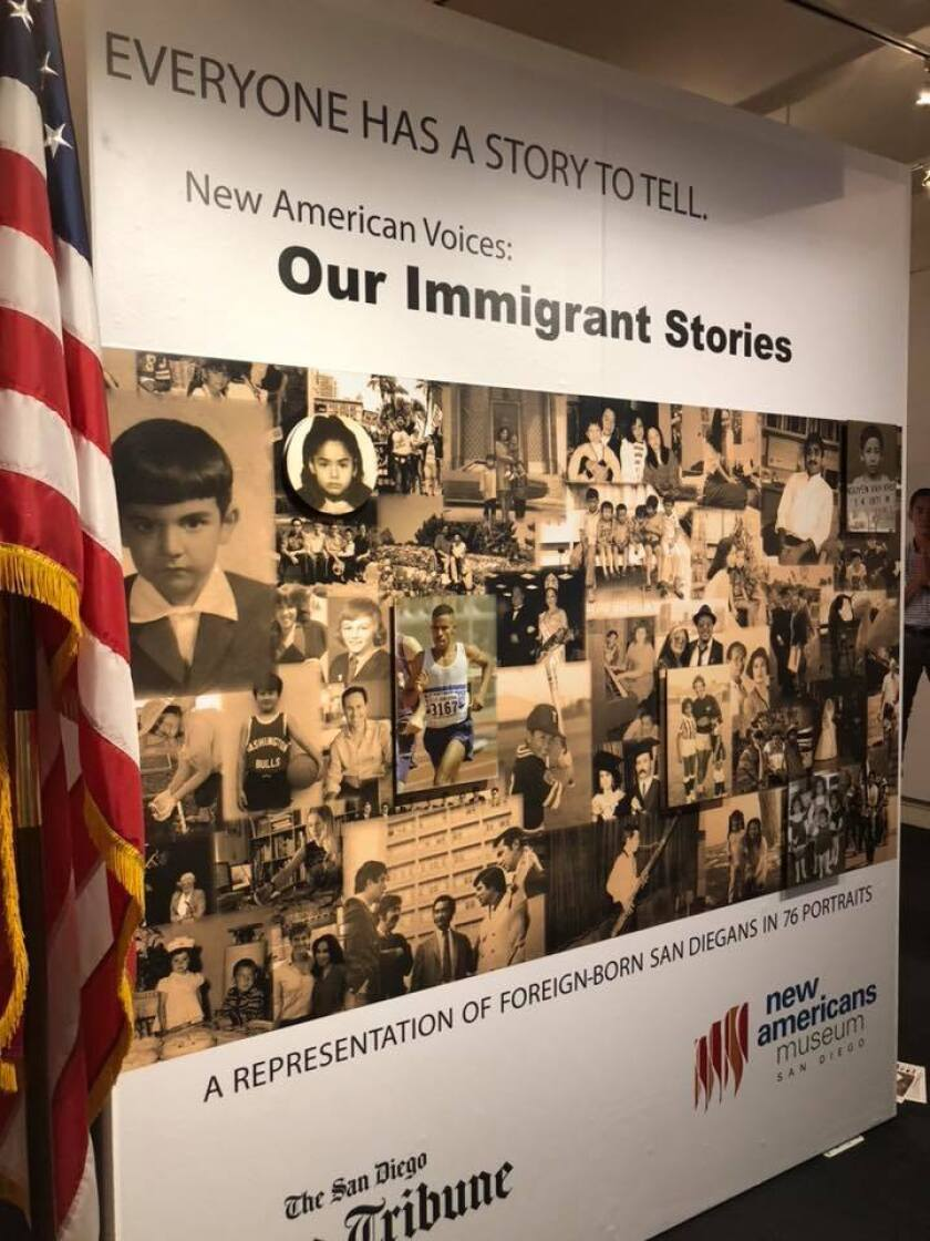 New American Voices: Our Immigrant Stories is a project from The San Diego Union-Tribune.