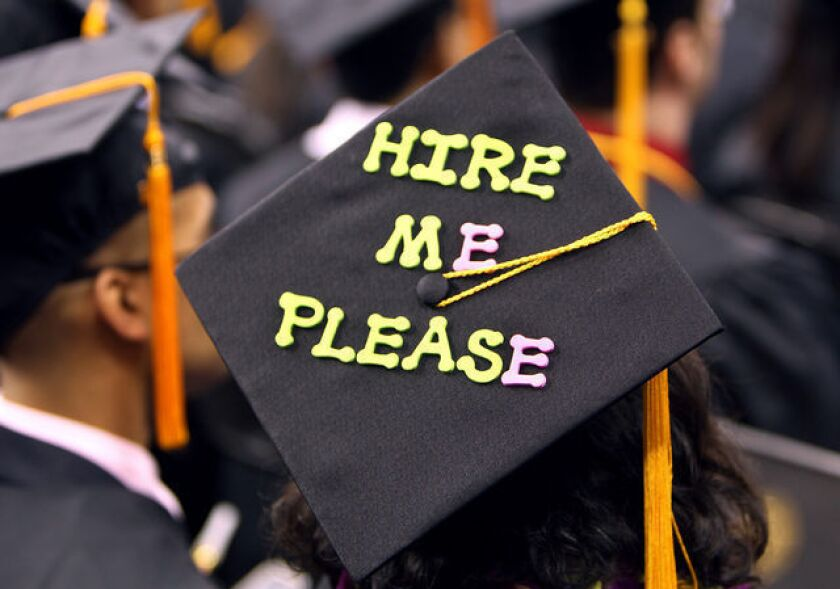 A college graduation
