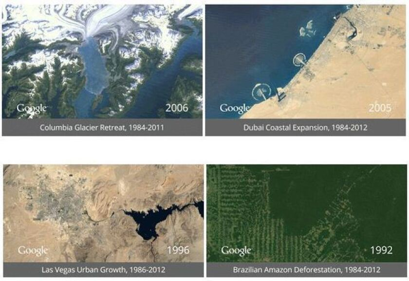 Google's Earth Engine: A stunning time-lapse view of the