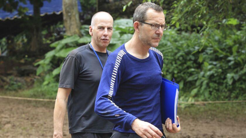 British divers bring experience to Thai cave drama - Los