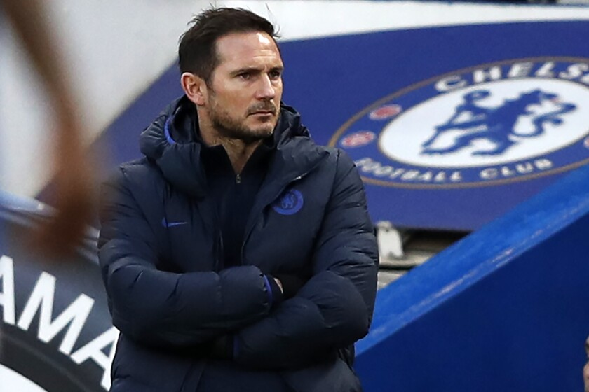 Coach Frank Lampard has watched Chelsea lose five of their last seven games.