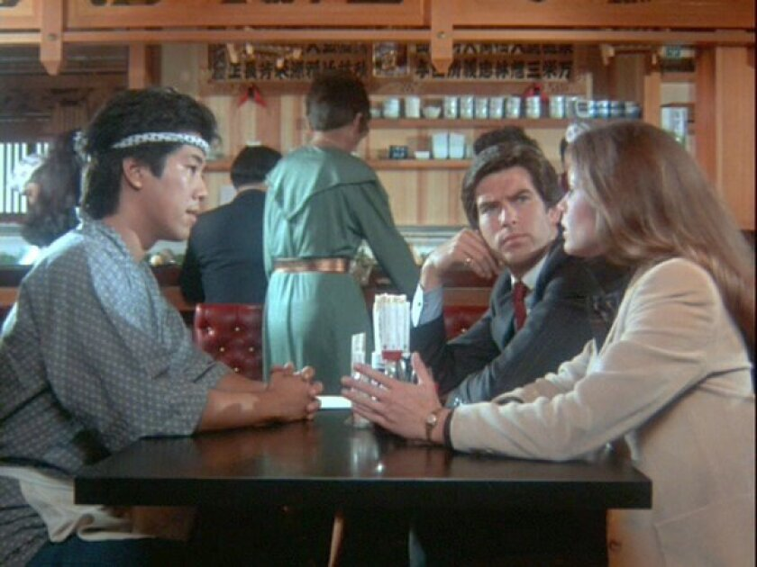 """Pierce Brosnan and Stephanie Zimbalist starred in the popular 1980s detective show """"Remington Steele."""" The show is being remade as a half-hour comedy."""