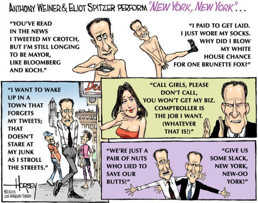 Weiner and Spitzer ask New York voters to forgive their sins