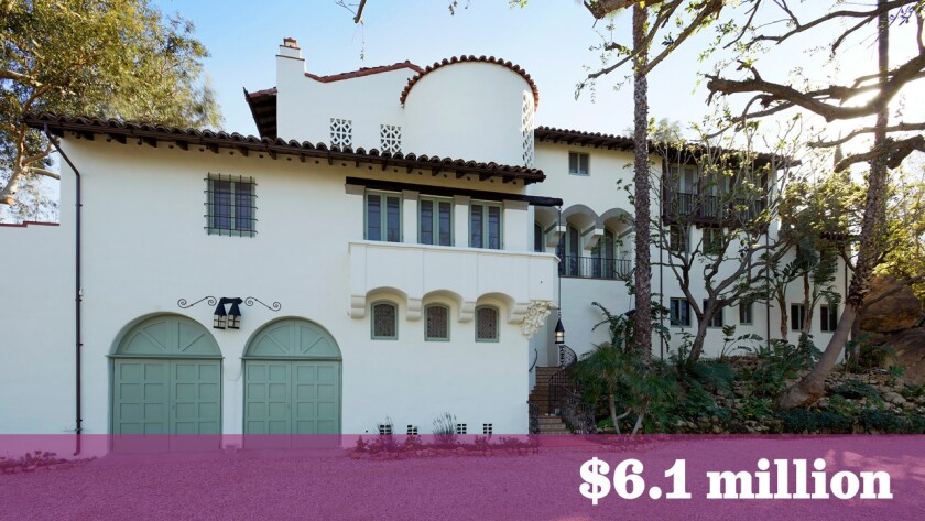 A Spanish Revival-style estate owned by the late Andrew R. Getty and, before him Oscar-winning composer Miklos Rozsa, has sold in Hollywood Hills West for $6.1 million.