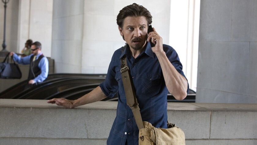 """Jeremy Renner in """"Kill the Messenger"""" on HBO"""