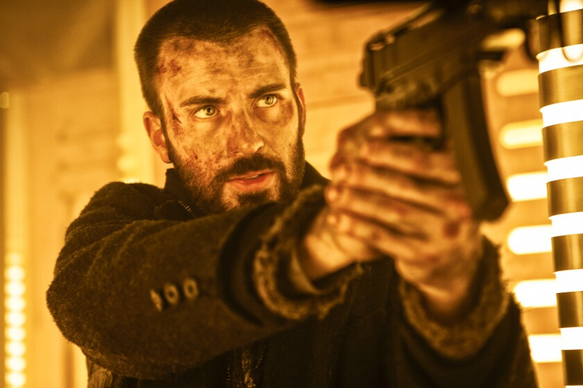 """Chris Evans stars in """"Snowpiercer,"""" the early release of which on VOD represents a new experiment in film distribution."""