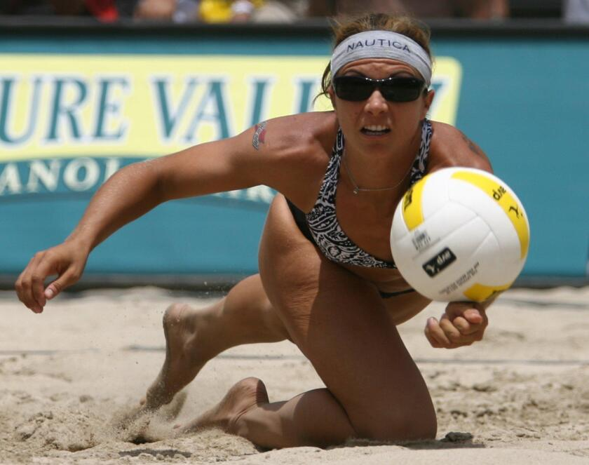Misty May-Treanor, a Newport Harbor High product and a three-time Olympic gold medalist in beach volleyball, will be inducted in the International Volleyball Hall of Fame in October.