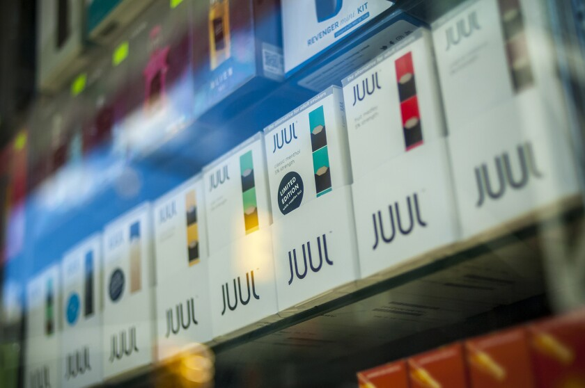 A California prosecutor is investigating Juul over what she alleges is false and misleading advertising.