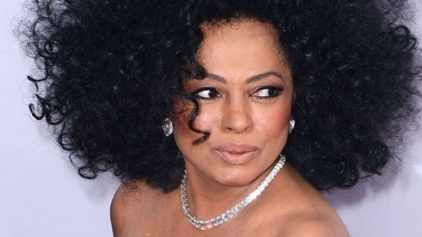 Diana Ross, pictured in an undated file photo, performed Saturday at the Hollywood Bowl. She didn't allow The Times to photograph the concert.