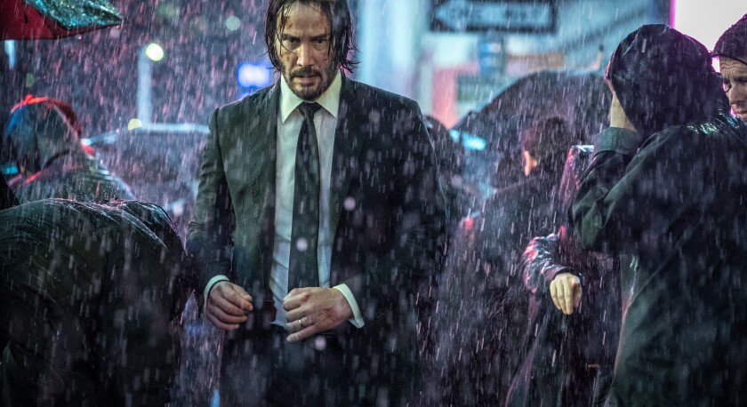 "Keanu Reeves in ""John Wick: Chapter 3 — Parabellum"""