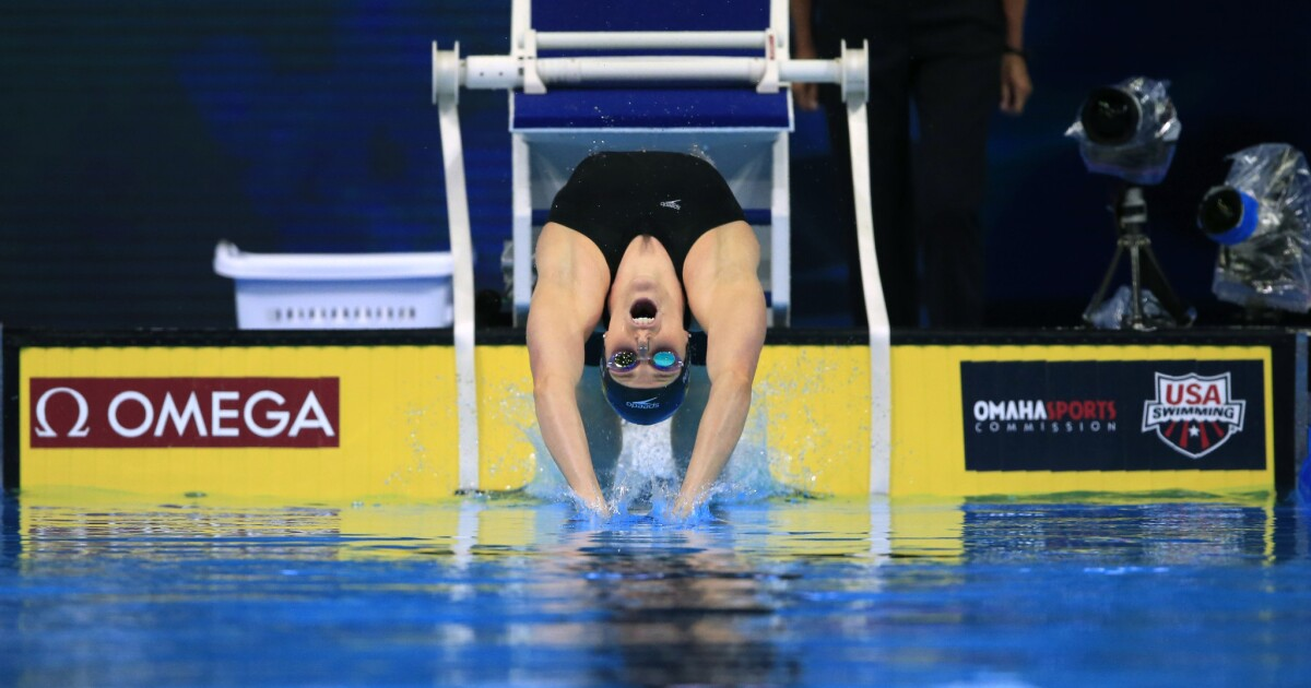 Missy Franklin falters as newcomers dominate U S  Olympic