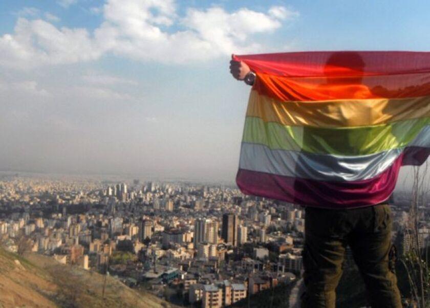 """Irán es uno de los países que tiene leyes criminales contra cualquier """"conducta homosexual""""."""