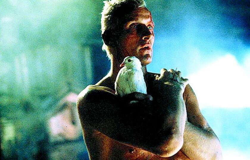 "Rutger Hauer in ""Blade Runner."""