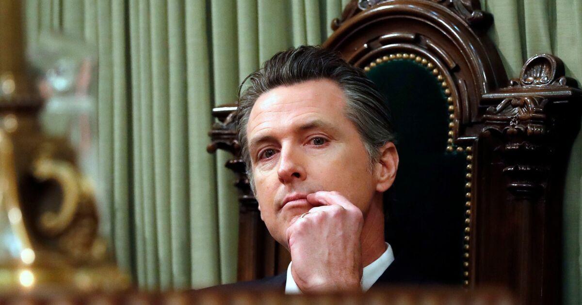 Die jury ist noch heraus auf Newsom als Gouverneur — aber er Tat es OK seinem ersten Jahr