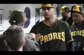 Padres pitcher Joey Lucchesi on his first major league start