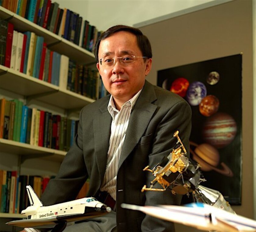 Aerospace engineer Ping Lu joined the faculty at San Diego State University, where he will continue his research on ways to land humans on Mars.