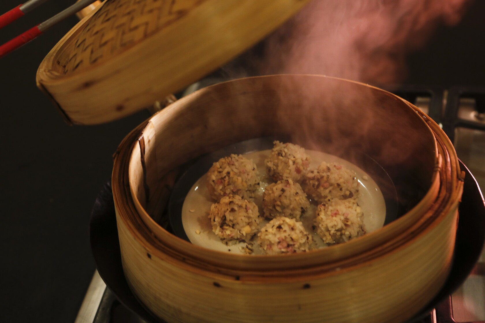 Many hands make wontons, pearly meatballs and an enjoyable day - Los