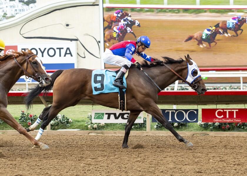 APphoto_Rancho Bernardo Handicap Horse Racing