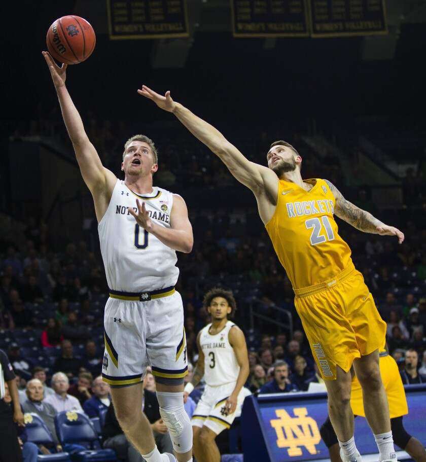 Toledo Notre Dame Basketball