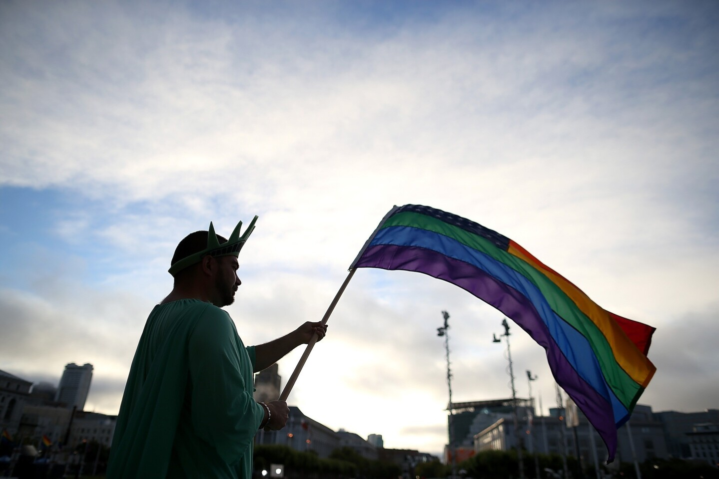 The Supreme Court strikes down key parts of the federal Defense of Marriage Act and opens the way for gay marriage in California. Celebrities weigh in on Twitter. Full coverage on Prop. 8 and DOMA