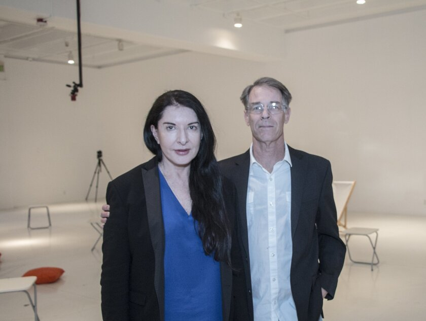 Marina Abramovic and Kim Stanley Robinson 