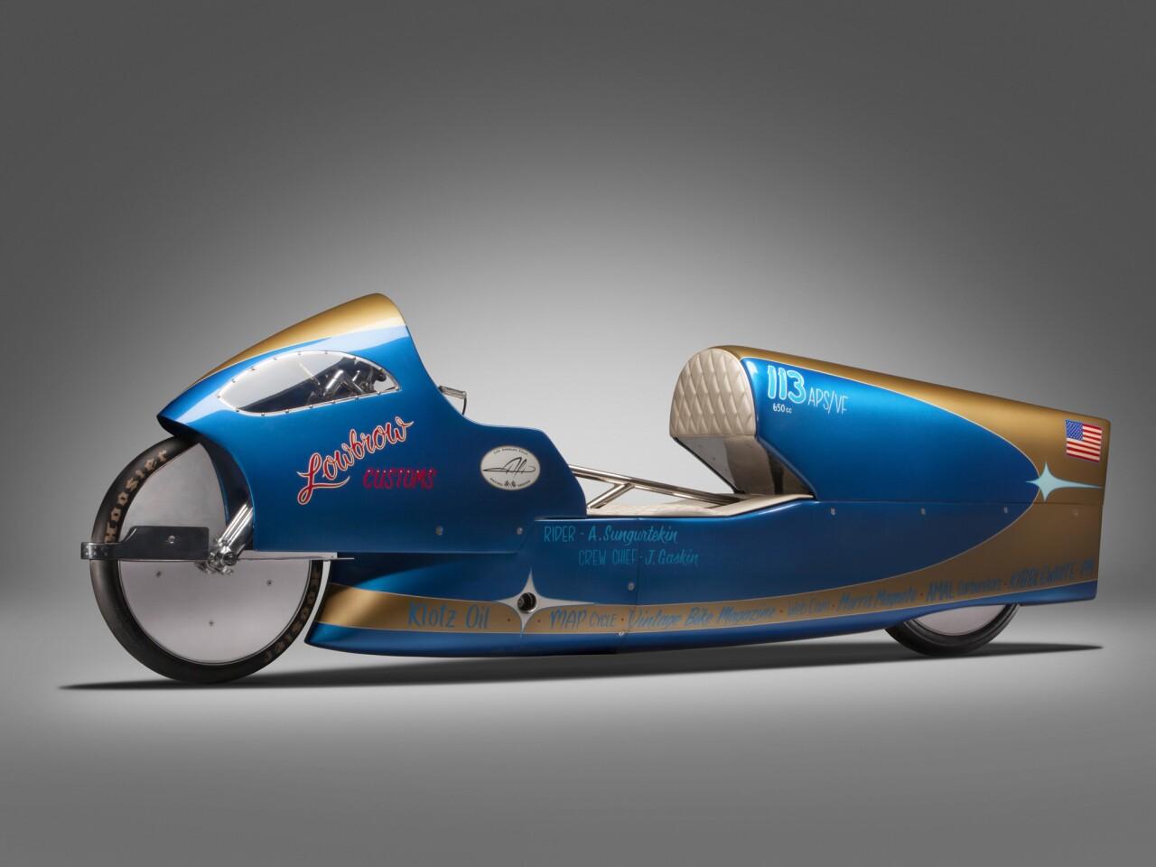 Alt Custom motorcycles at Petersen Automotive Museum