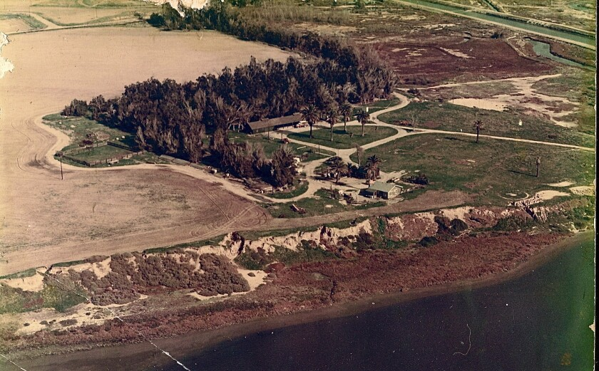 The Bolsa Chica Gun Club site circa the late 1960s.