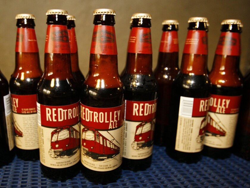 Karl Strauss' Red Trolley Ale, a World Beer Cup winner -- again