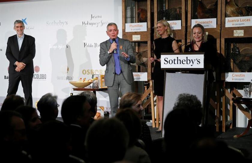 La casa de subastas británica Sotheby's sacará los próximos días a subasta cientos de obras de arte, entre las que destacan algunas de las creaciones de maestros del Siglo de Oro español como Goya, Velázquez, Zurbarán o El Greco. EFE/ARCHIVO