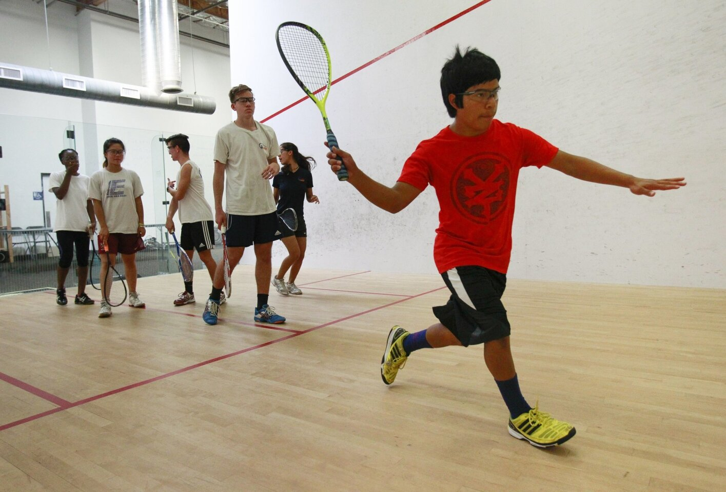 Squash and tutoring for students