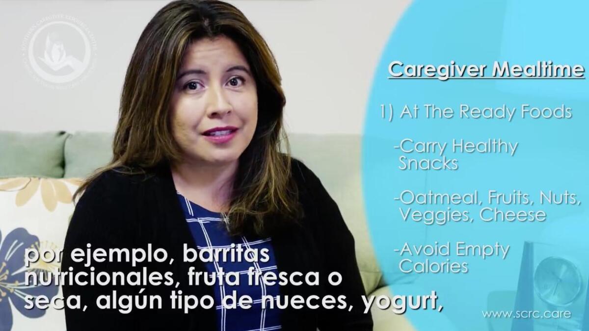 Caregiver Mealtime - The San Diego Union-Tribune
