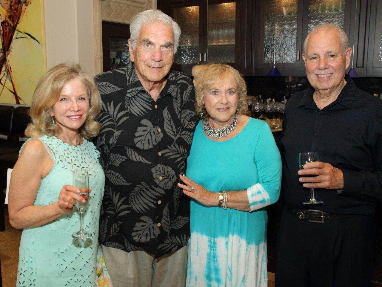 Dr. Penny Abrams, Elliott Tarson, Lynn Tarson, Barry Feinblatt