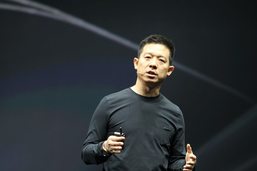 Jia Yueting, CEO of LeTV