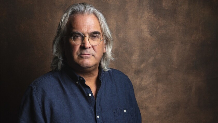 Director Paul Greengrass photographed at the Toronto International Film Festival on Sept. 8.