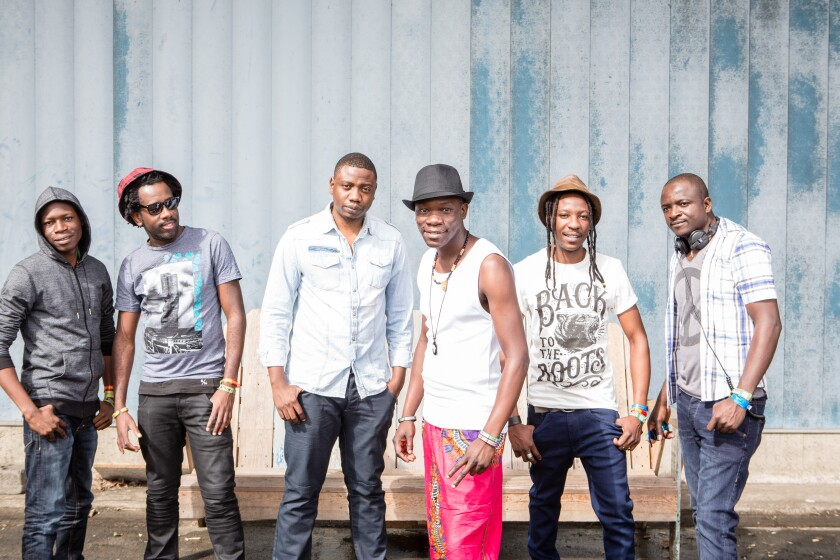 Hailing from Victoria Fall in Zimbabwe, Mokoomba is fast gaining an international following for its ebullient music.